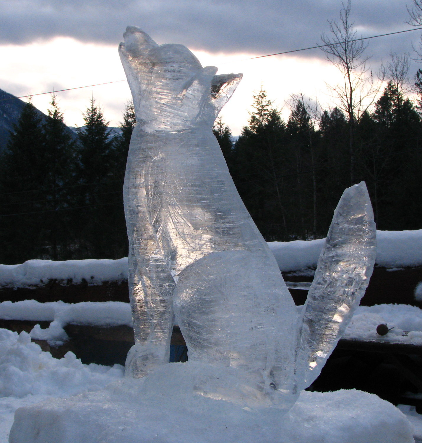 ice carving in winlaw my nelson now
